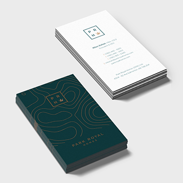 Park Royal Homes - Business Card