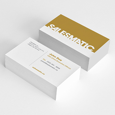 Salesmatic - Business Cards